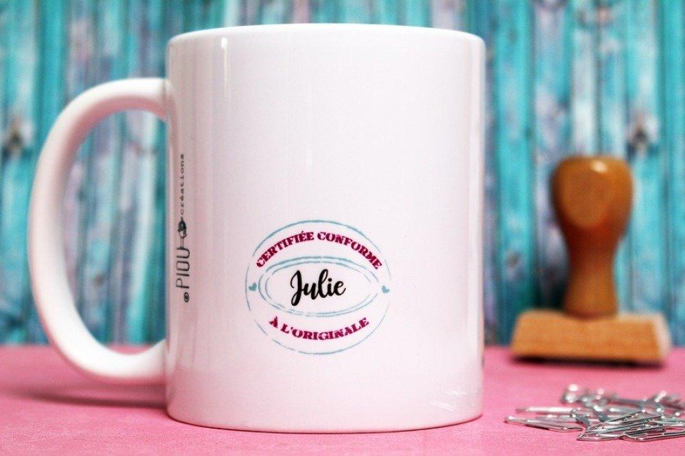 """Mug """"Maman photocopie"""". Tasse personnalisable. Cadeau pour maman. Fête des mères. Texte et graphisme by PIOU créations"""