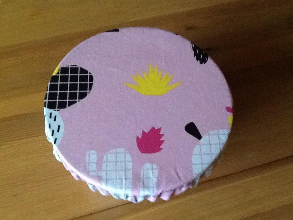 Charlotte à saladier ou couvre-plat lavable 16 cm