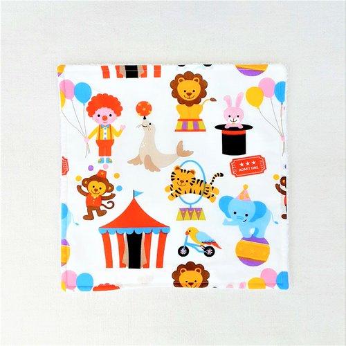 Serviette de table enfant - serviette de cantine - cirque
