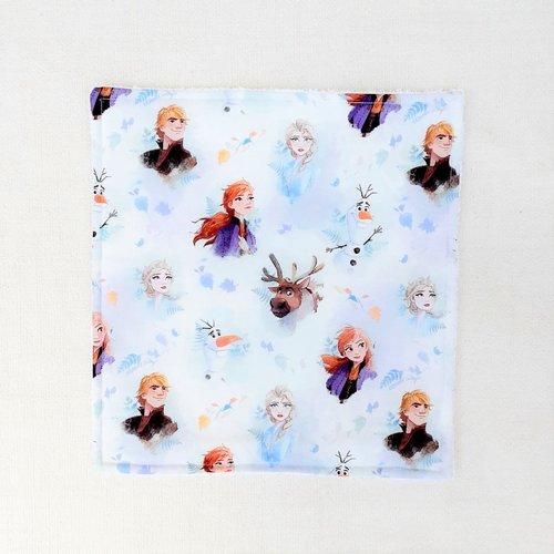 Serviette de table enfant - serviette de cantine - reine des neiges