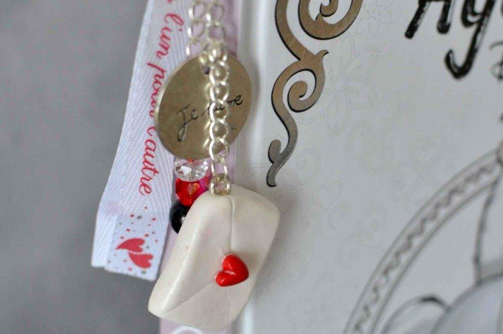 Marque-pages lettre d'amour