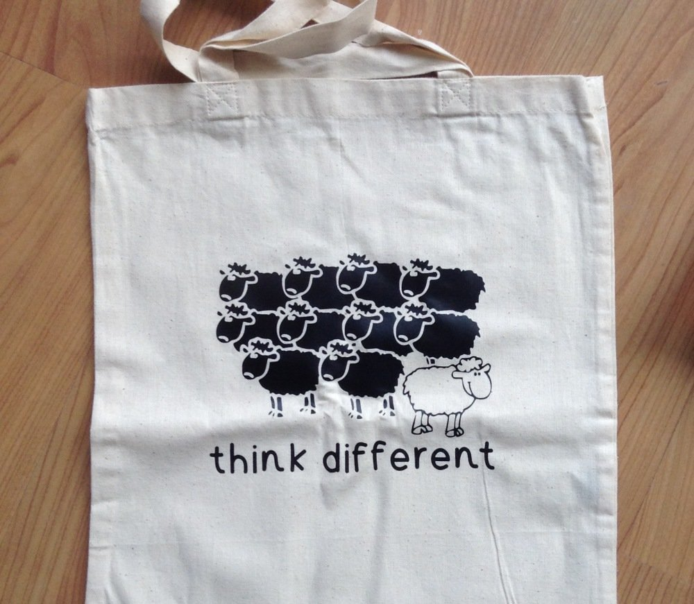 Tote Bag Thank différent
