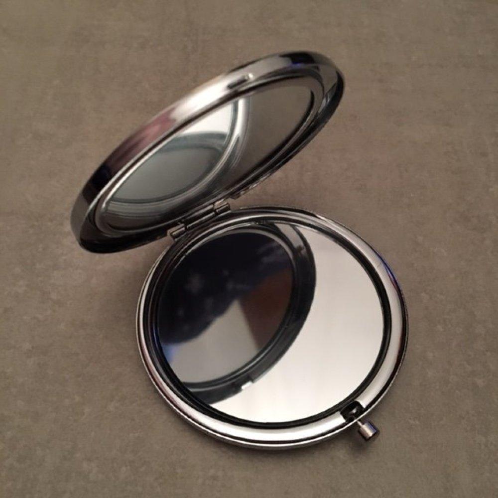 Filleule qui déchire - Miroir de poche - 77mm x 70mm