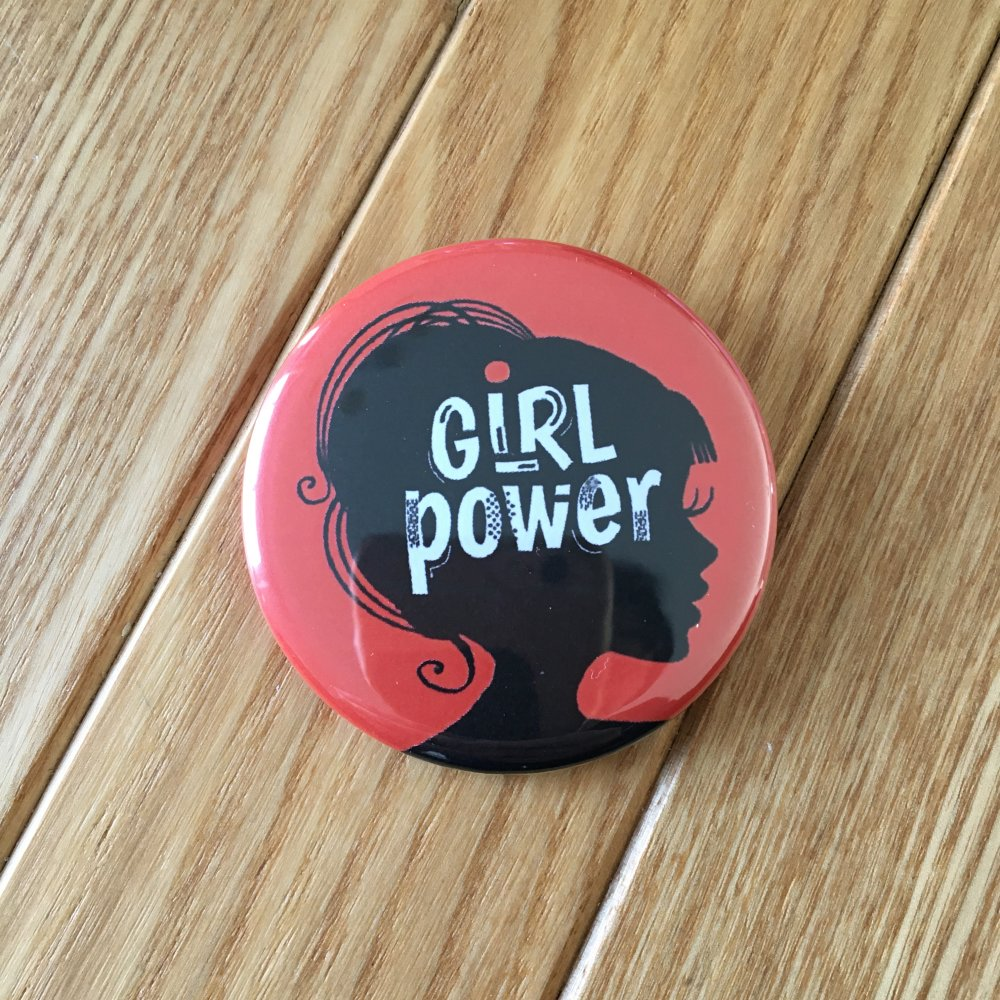 Girl Power - Grand Badge 56mm