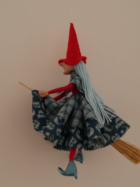 Petite sorcière en chiffon