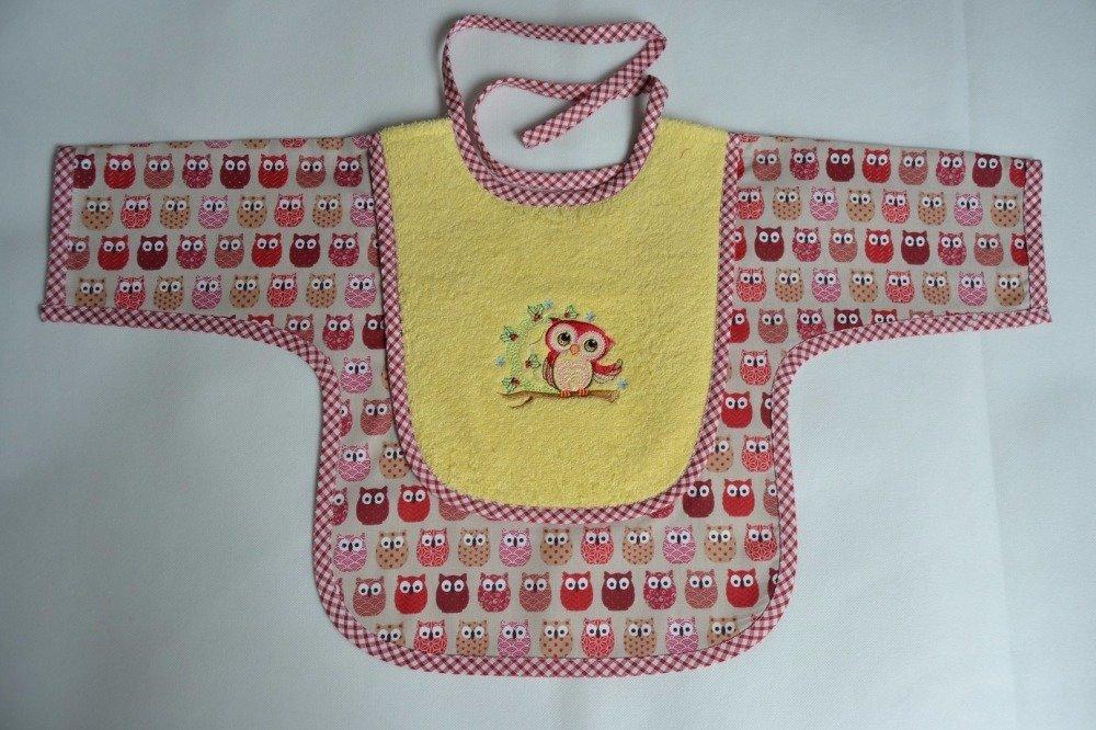 Bavoir bébé tablier personnalisable
