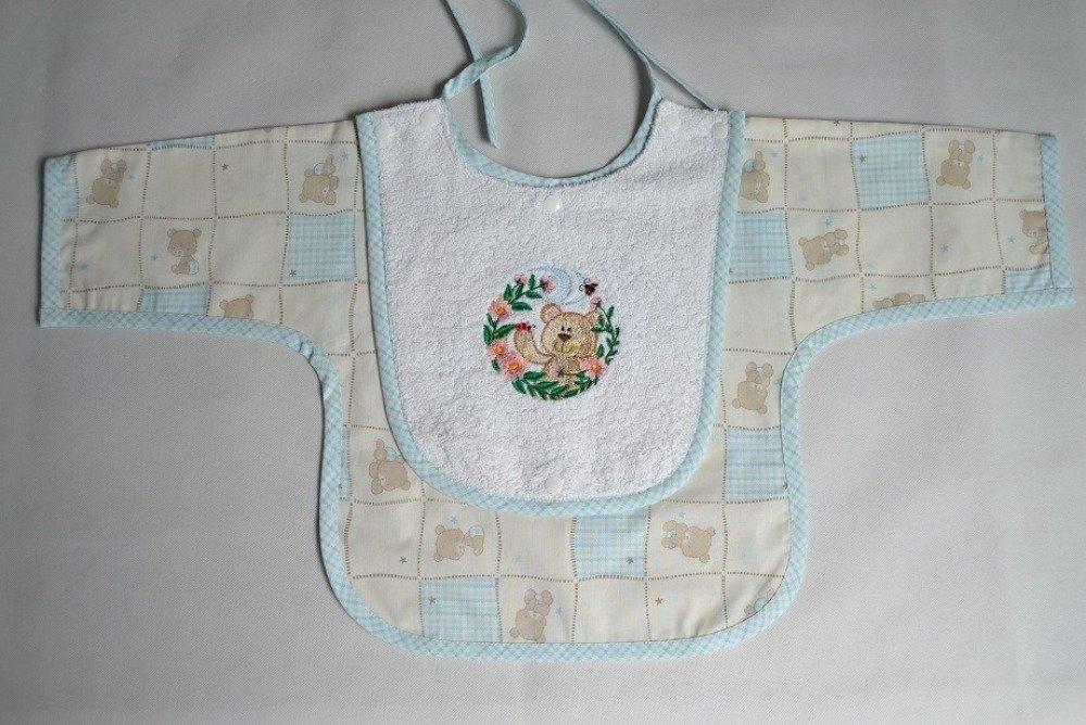 Bavoir bébé tablier