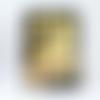 """Carte d'anniversaire """"mât chinois - guitare"""""""