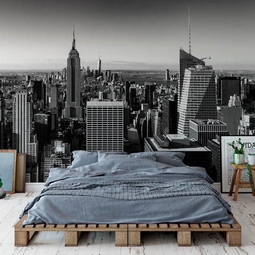 Manhattan Impression Grand Format Sur Vinyle Adhesif Un Grand Marche