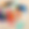 Anneaux marqueurs / lot de 20