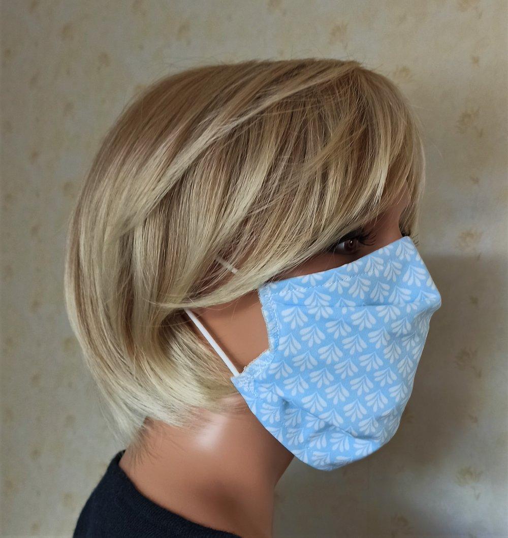 *** nouveau **** Masque tissu réalisé aux normes AFNOR, lavable et réutilisable