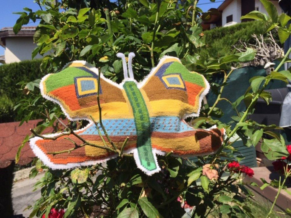 Papillon géant à suspendre