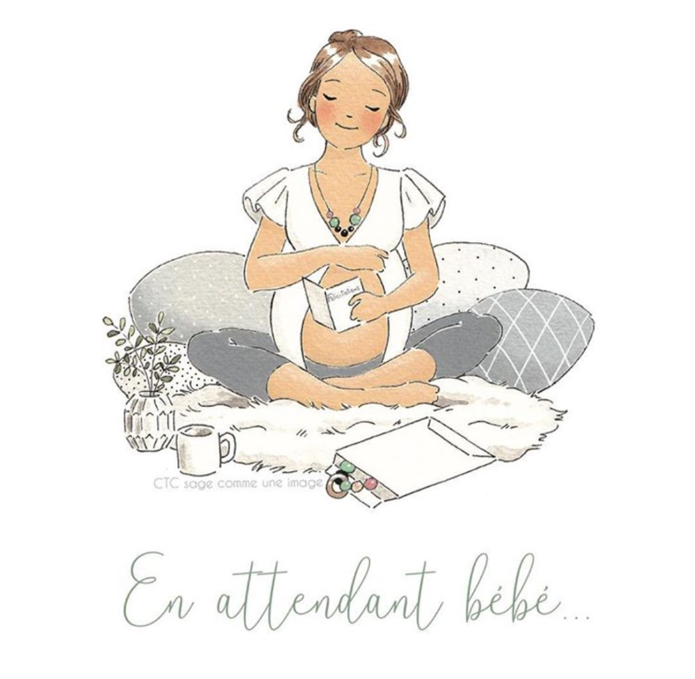 Box de grossesse « En attendant bébé...»
