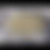 Napperon étoile jaune /blanc