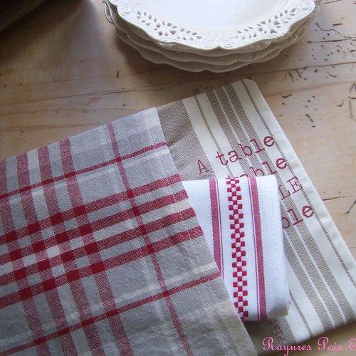 Set De Table Decoratif Campagne Chic A Table De Lin Et De