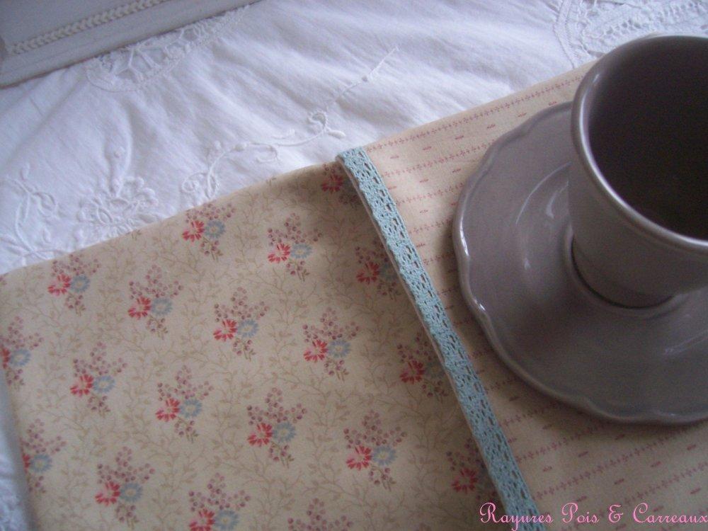 """Grand Set de table décoratif  """" Cottage Vintage """""""