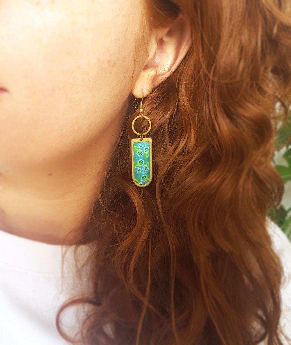 Boucles d'oreilles longue 609