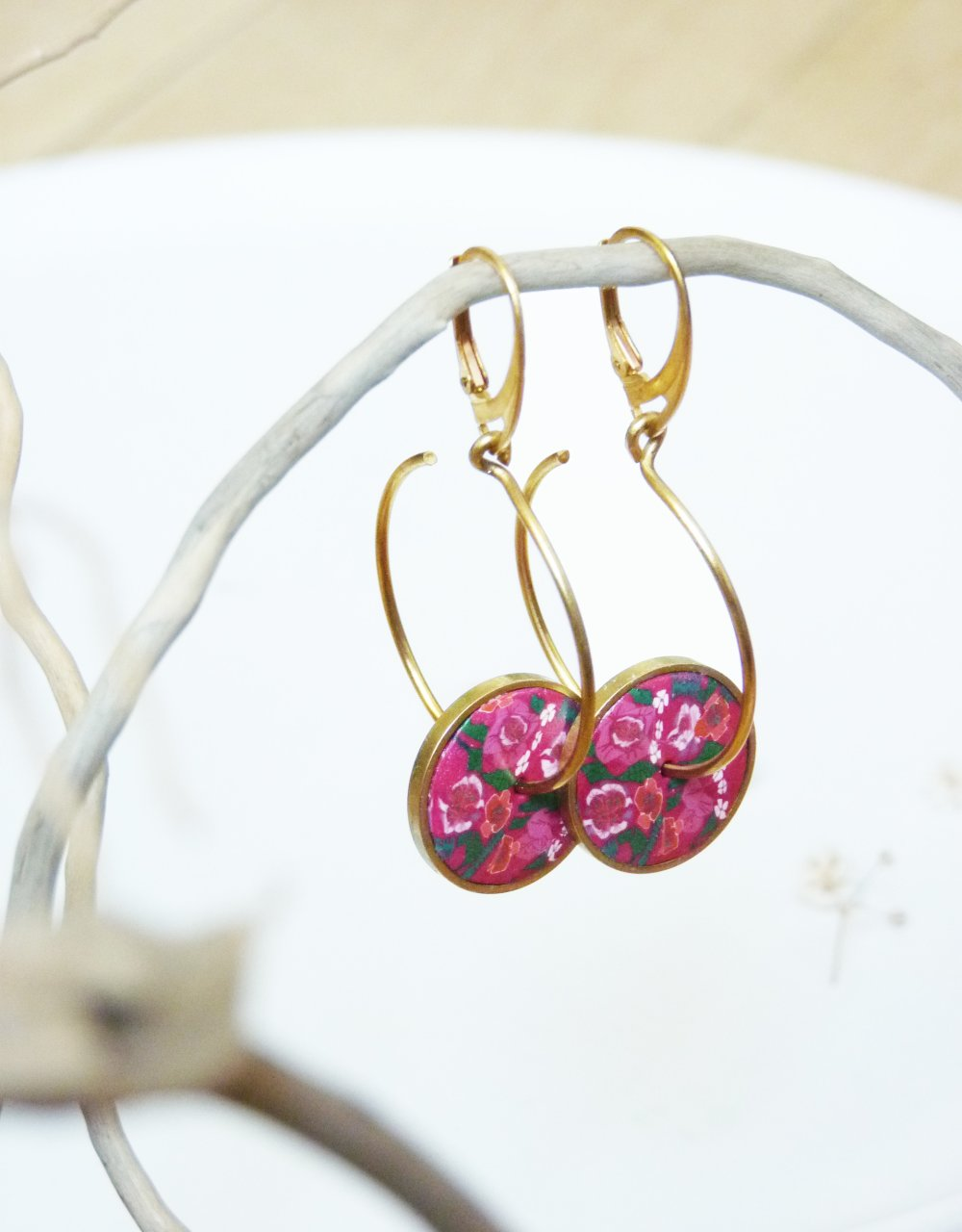 Boucles d'oreilles créoles- 619
