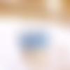 Boucles d'oreilles bleu tropical - 687