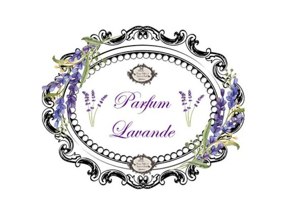 """Transfert à coudre """" Lavande Parfum Lavande"""" PF"""