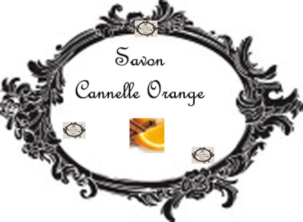 "Transfert à coudre ""Savon Cannelle Orange """