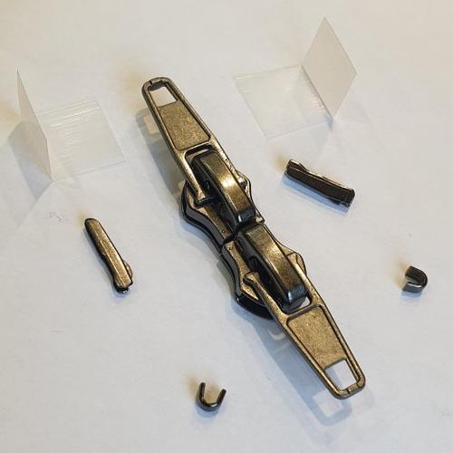 1 kit réparation double curseurs+ 2 manchons + arrets + renforts