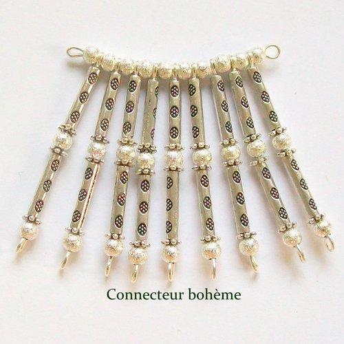 Connecteur collier style bohème