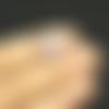 10 pendentifs breloques licorne 22mm x 12mm métal doré et émail violet et blanc