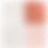 4 coupons tissu enfant princesse coribel rose, blanc et saumon, oeko tex