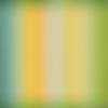 Remix tissu a rayures orange, moda, lollies mango, jen kingwell