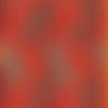 Tissu patchwork orange, rouge et turquoise, dianthus, paintbrush studio
