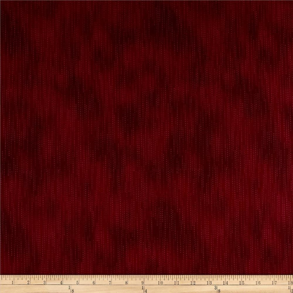 tissu bordeaux lie de vin avec pois, Stof Fabrics Denmark, Dusty Scattered Dots Wine