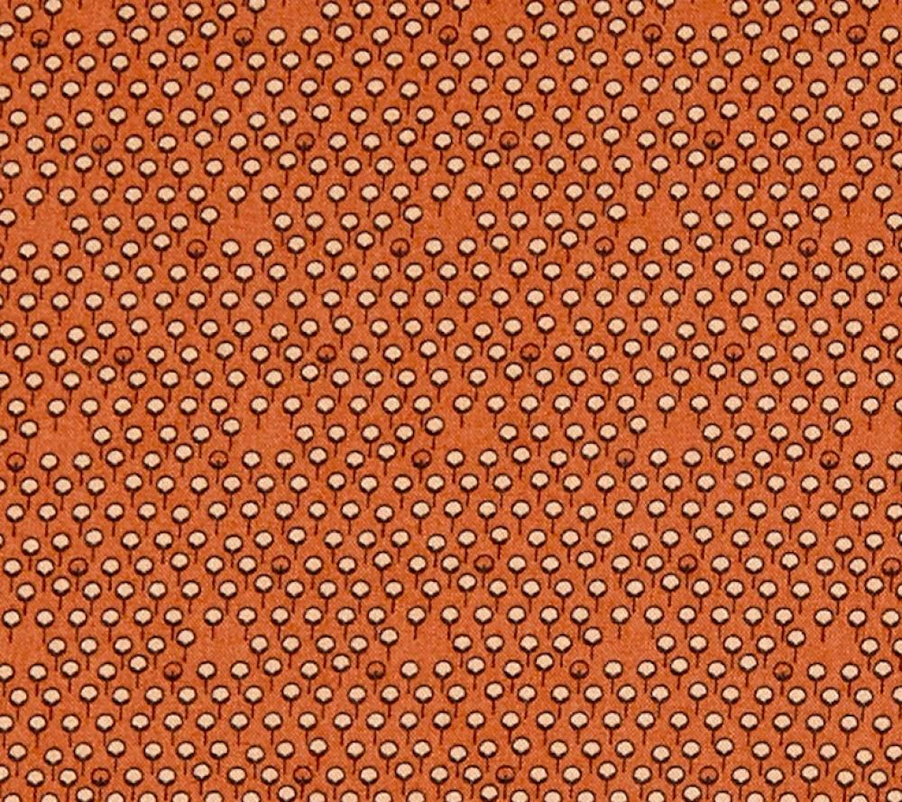 tissu saumon petites fleurs, Stof Fabrics Denmark, Bonita Graphic Dot Peach