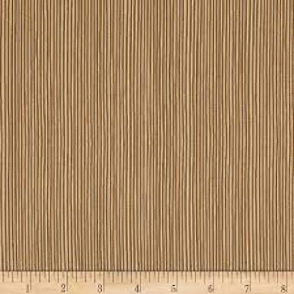tissu ivoire et sable  Stoffabric Denmark, Hannah Basic Lines Sand