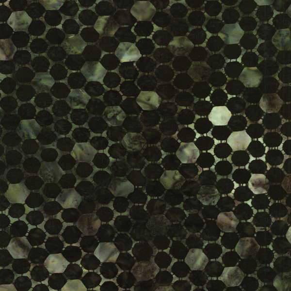 tissu patchwork BATIK Anthology-11525 honeycomb
