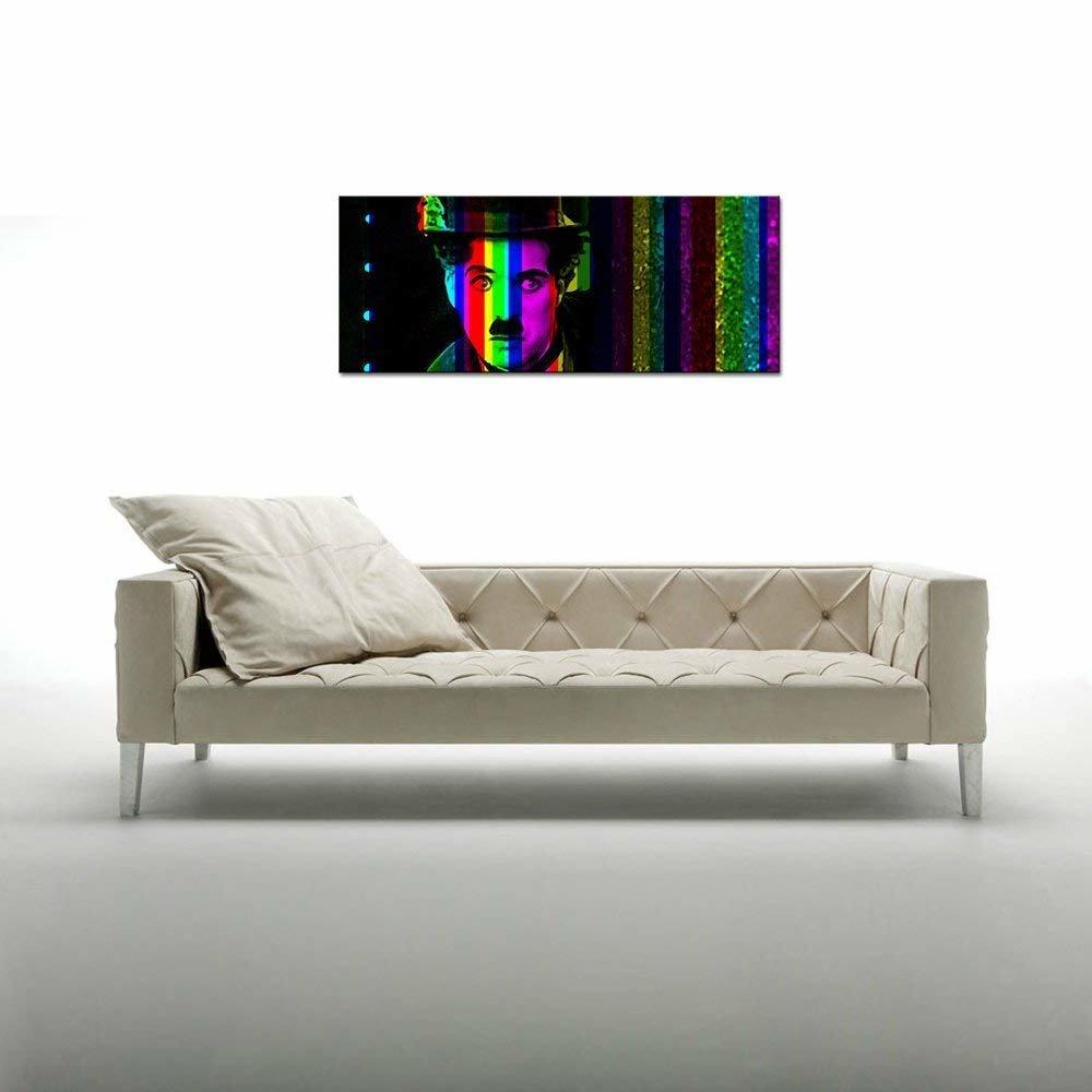 Photo panoramique charlot 40x100cm