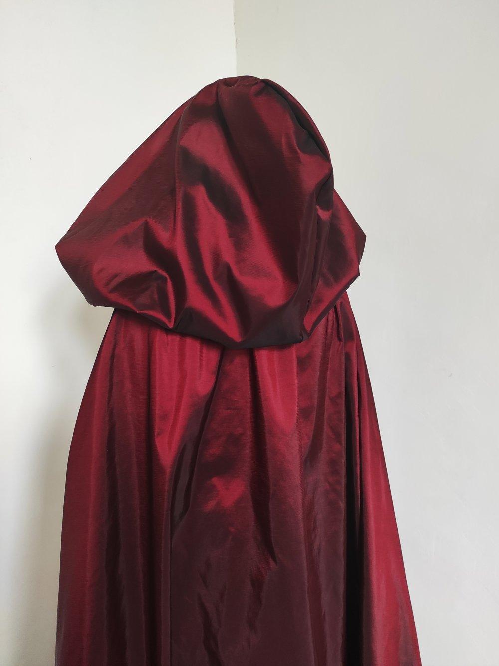 Robe et cape médiévale femme XXS au L