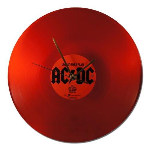"Horloge vinyl acdc ""live at riverplate"" red vinyl! #2 - 12""/31cm"