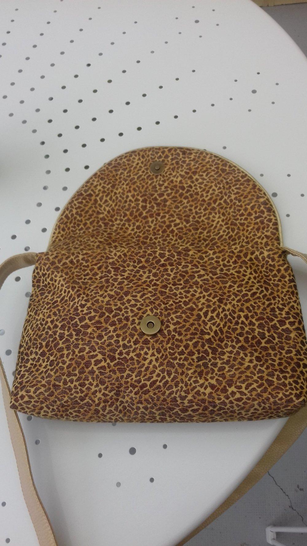 sac bandoulière léopard