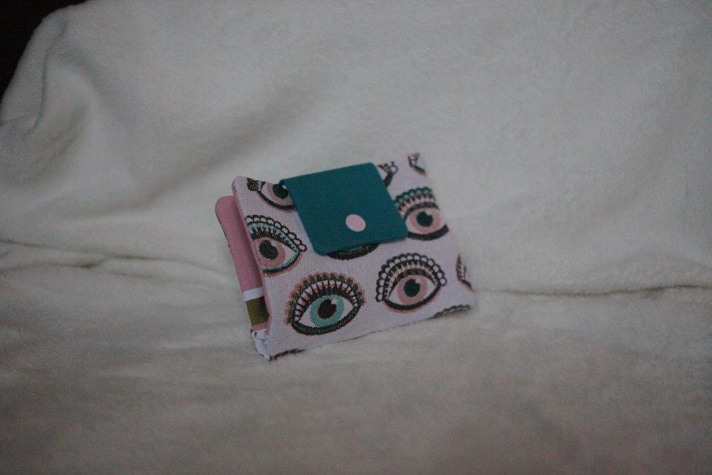 Porte monnaie porte cartes