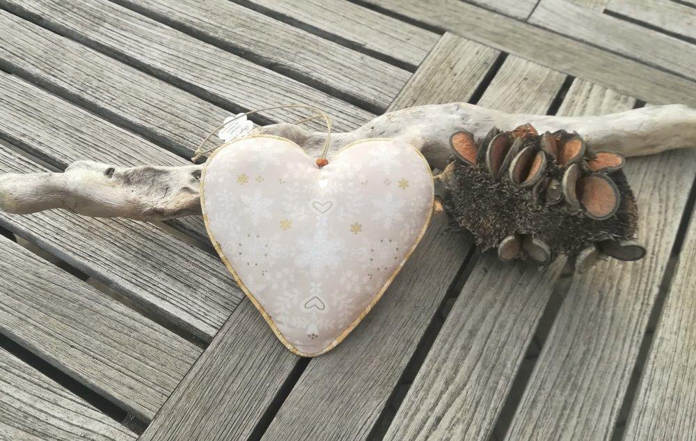 Grand cœur motif cerf