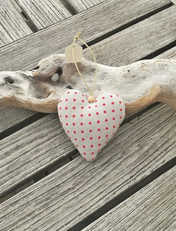 Cœur motif renne