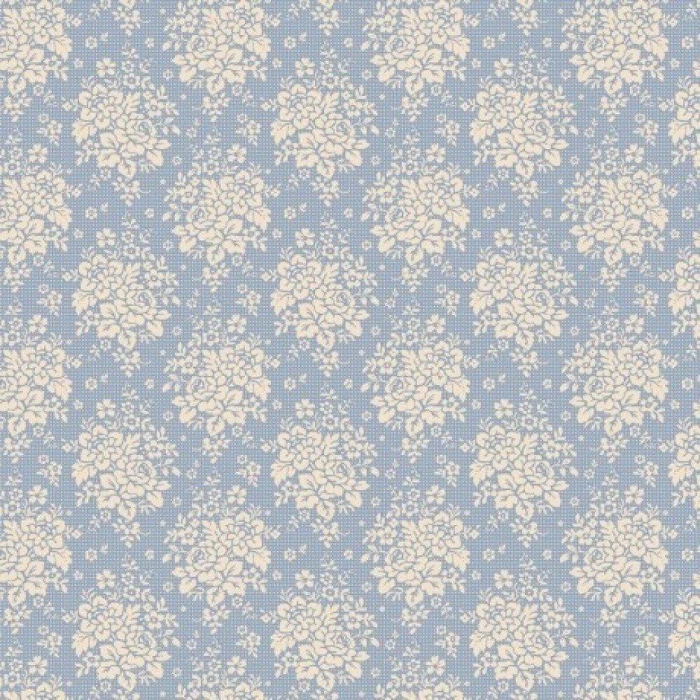 Coupon Tissu Tilda Summer Picnic Blue