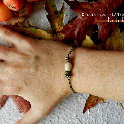 Bracelet aux couleurs d'automne