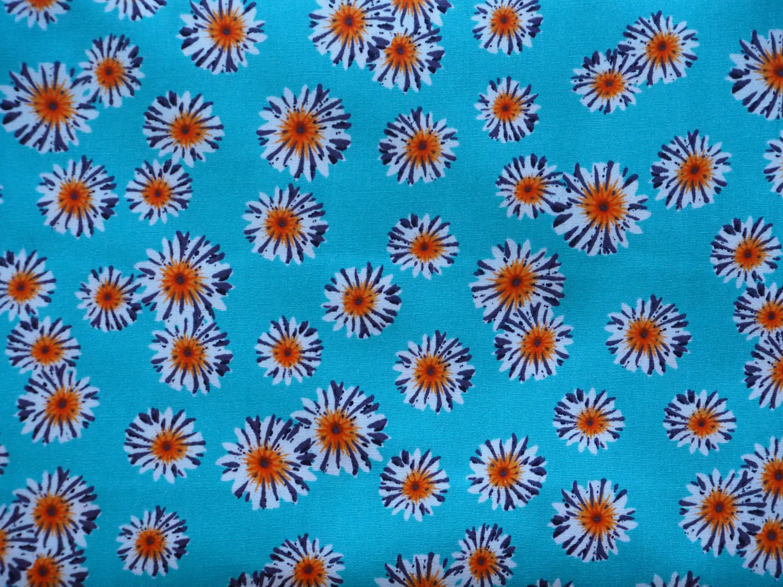 Sunflowers - Turquoise