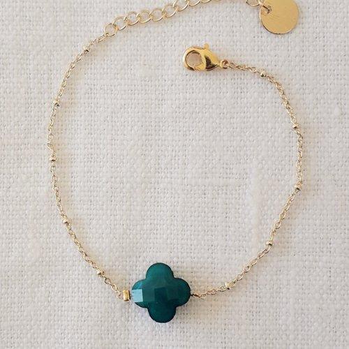 Bracelet lucky bleu