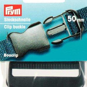 Prym Boucle coulissante plastique 50mm noir
