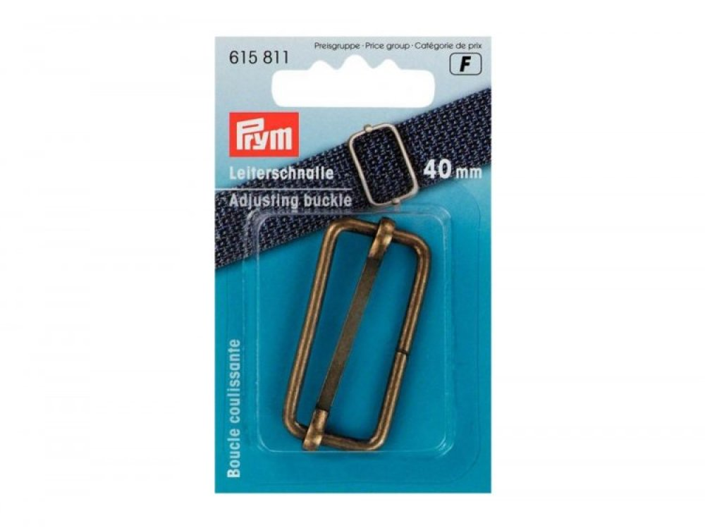 Boucle coulissante 40mm en laiton antique Prym 615811