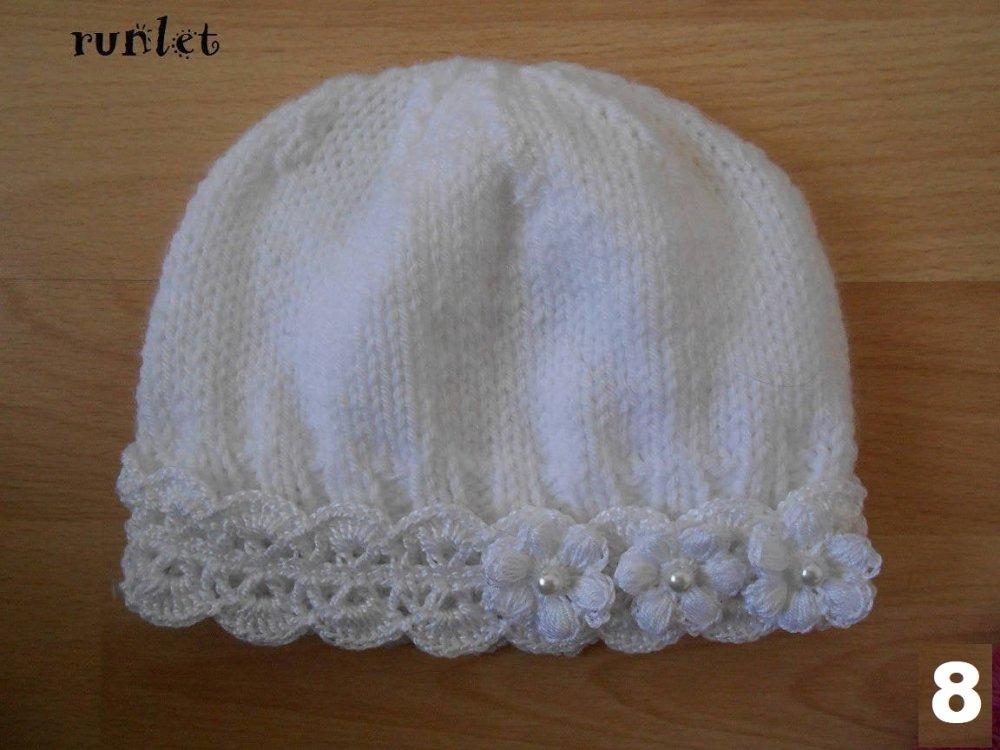 bonnet bébé crochet,bonnet naissance