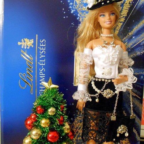 Robe pour barbie,ensemble barbie,costume barbie,vêtement haut couture barbie,robe barbie,jupe blouse de soirée barbie